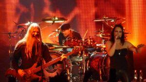 Nightwish keikka 03032012 Vuokattihallissa Marco Hietala Jukka Nevalainen Anette Olzon