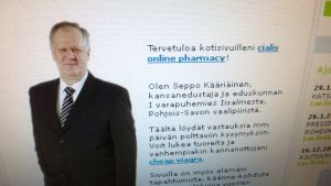 Kuva Seppo Kääriäisen valenettisivustolta.