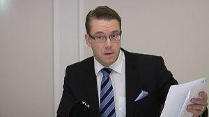 Puolustusministeri Stefan Wallin