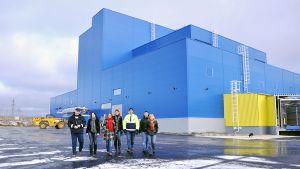 Kuvassa Rani Plastin Venäjän Kalugassa avaama uusi tehdas