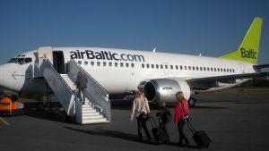 Air Balticin kone.