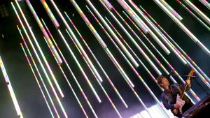 Radioheadin Thom Yorke Saksan Hurricane-festivaaleilla kesällä 2008.