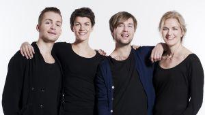Kristina från Duvemålan päänäyttelijät.