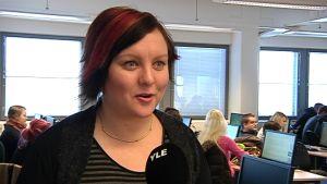 Viestinnän opettaja Helena Mikkilä SeAmk.