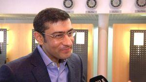 NSN CEO Rajeev Suri on a visit to Oulu.
