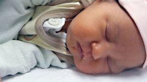 Kuvassa vauva