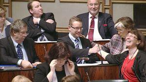 Puolustusministeri Stefan Wallin.
