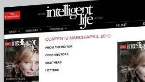 Intelligent Life -julkaisun kannessa retusoimaton Cate Blanchett.