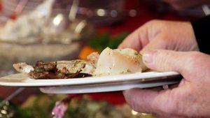 Kalaa lautasella.