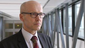 Suomen poliisijärjestöjen liiton puheenjohtaja Yrjö Suhonen.