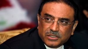 Benazir Bhutton leski Asif Ali Zardari