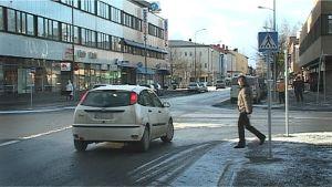 Seinäjoen kaupungin keskusta.