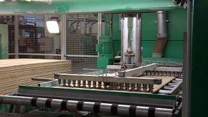 Karelia-Upofloorin Kuopion tehtaan tuotantotiloja