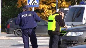 Poliiseja Kauhajoella