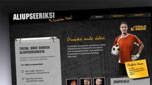 Puolustusvoimat hakee aliupseereita mainoskampanjalla netissä.