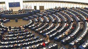 Euroopan Parlamentin istuntosali