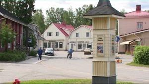 Juuan kirkonkylän vanha keskusta, Puu-Juuka.