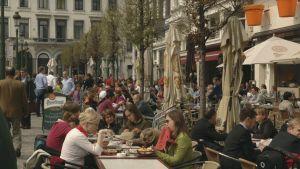 Brysselin katutunnelmaa