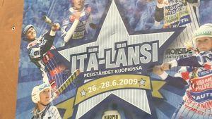 Kuopion Itä-Länsi tapahtuman juliste
