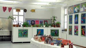 Kuvataidekoulun näyttely