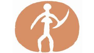 Etelä-Savon maakuntaliiton Astuvan akka -logon on suunnitellut mikkeliläinen taiteilija, graafiinen suunnittelija Kari Piippo.
