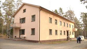 Turvapaikanhakijoiden vastaanottokeskus Kristiinankaupungissa.