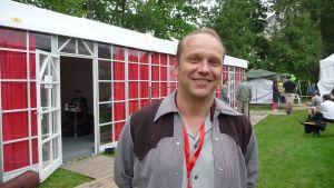 Vesa Haaja aloitti Agentsin solistina loppuvuodesta 2008.