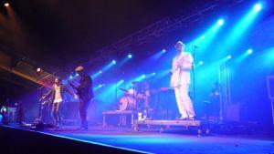 Bo Kaspers Orkester Imatra Big Band -festivaaleilla.
