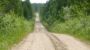 metsäautotie paikallistie hiekkatie kylätie pikkutie yksityistie