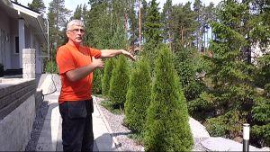 Puutarhuri ja pihasuunnittelija Sven-Gustav Jåfs.