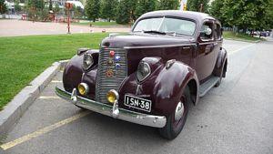 Museoauto vuoden 1938 Studebaker