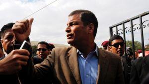 Ecuadorin presidentti Rafael Correa