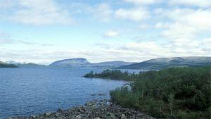 Kilpisjärvi ja Saana-tunturi