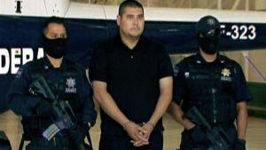 Eräs Meksikossa pidätetyistä La Familia-huumekartellin jäsenistä.