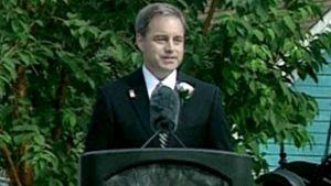 Alaskan kuvernööri Sean Parnell.