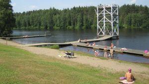 Pankalammen uimaranta Mikkelissä