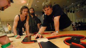 Roolipelaajia vuoden 2007 Ropecon-tapahtumassa.