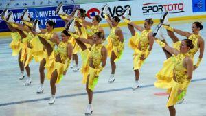 Rockettes Erzurumin talviuniversiadien lyhytohjelmassa
