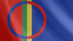saamelaisten lippu