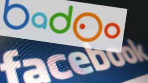 Badoo ja Facebook liikemerkit.