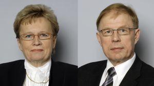 Ulla-Maija Wideroos ja Pekka Ravi