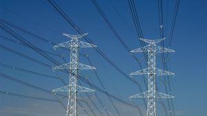 Fingridin sähkönjakeluverkkoa.