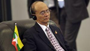 Myanmarin presidenttiehdokas Thein Sein