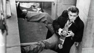 James Dean New Yorkissa vuonna 1954.