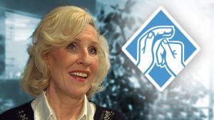 Eija Vilpas ja Suomen kuurosokeat ry:n logo.