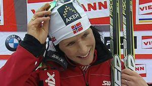 Marit Björgen kuvassa
