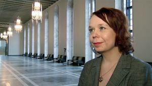 SDP:n varapuheenjohtaja Pia Viitanen