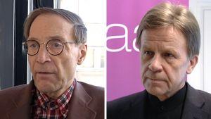 Pär Stenpäck ja Mauri Pekkarinen