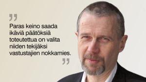 Grafiikka toimituspäällikkö Matti Virtasen vaaliblogiin