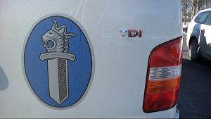 Poliisiauton logo.